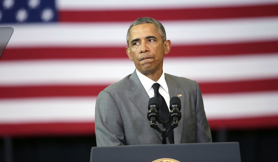 President Obama's push to extend the EPA's regulatory hand to ditches and small streams to enforce clean water rules was blocked Thursday by a federal judge. (Associated Press)