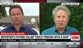 "Andy Parker, whose daughter Alison was one of two journalists fatally shot in southwest Virginia, has vowed not to rest ""until I see something get done"" on gun control. (CNN)"