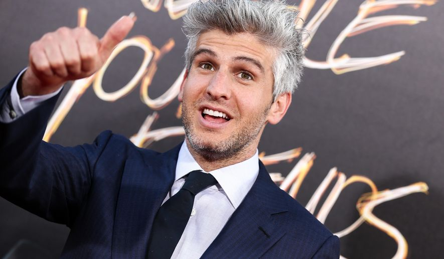 """FILE - In this Aug. 20, 2015 file photo, Max Joseph, director and co-screenwriter of """"We Are Your Friends,"""" poses at the premiere of the film in Los Angeles. Joseph, who co-hosts the """"Catfish"""" series, made his film directorial debut with """"We Are Your Friends."""" (Photo by John Salangsang/Invision/AP, File)"""
