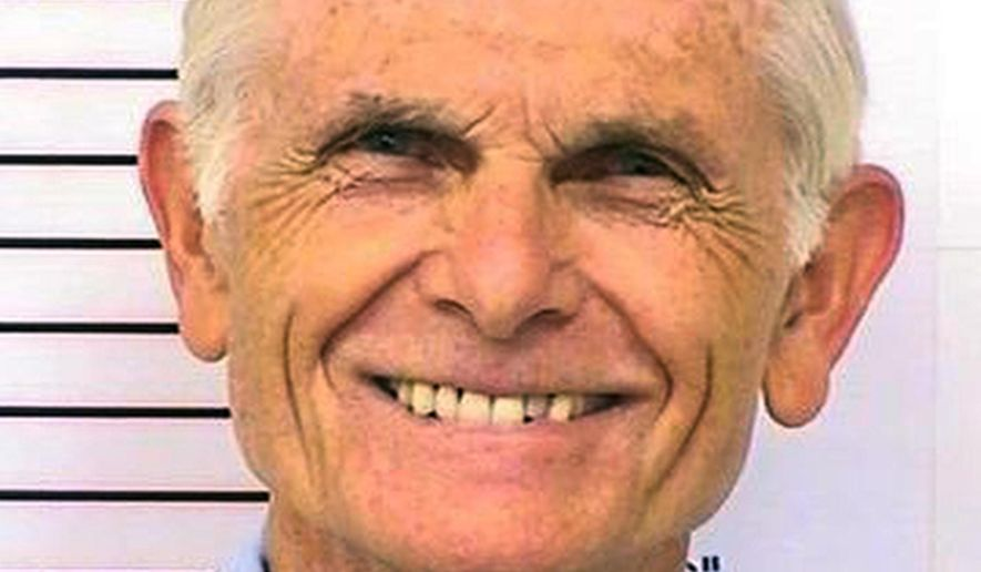 """This March 12, 2014, photo provided by the California Department of Corrections and Rehabilitation shows Bruce Davis. Parole Commissioners are scheduled to consider for the 30th time, Thursday, Aug. 27, 2015, if Davis should be paroled in the 1969 slaying of musician Gary Hinman and stuntman Donald """"Shorty"""" Shea. (Department of Corrections and Rehabilitation via AP, File)"""