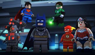 Crime is on the run as the newly formed Justice League keeps Metropolis safe and this makes evil genius Lex Luthor very unhappy in the new to Blu-ray release LEGO DC Comics Super Heroes - Justice League: Attack of the Legion of Doom from Warner Home Video.