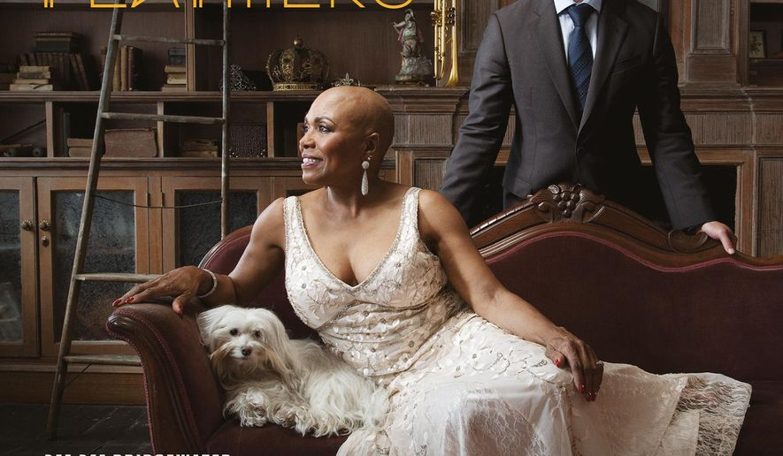 "This CD cover image released by OKeh/Sony Music/DDB Records shows ""Dee Dee's Feathers,"" the latest release by Dee Dee Bridgewater. (OKeh/Sony Music/DDB Records via AP)"