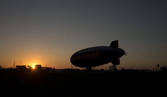 The days are over for Thailand's $10 million blimp. After eight years of rare flights, the aircraft was decommissioned and its valuable and sophisticated surveillance cameras were salvaged. (Associated Press/File)
