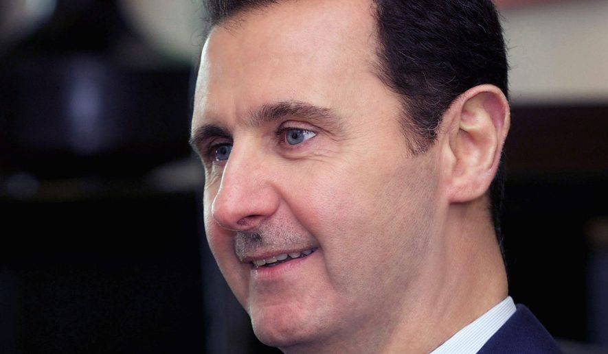 Syrian President Bashar Assad continues to be a thorn in U.S.-Russia talks for peace in the Middle East as the U.S. backs Mr. Assad while Russia supports nearby Iran against him. (Associated Press)