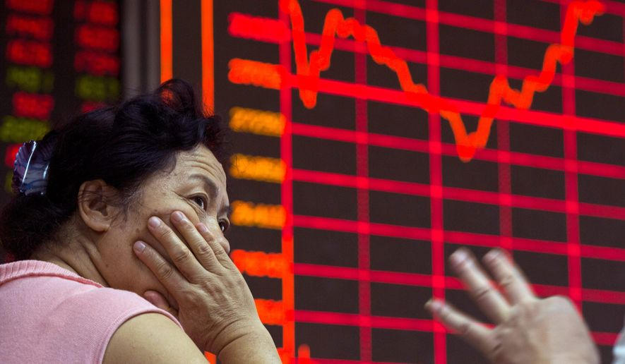 Chinese officials are casting about for scapegoats to blame for the country's mishandling of a recent stock bubble that dented the country's economy. (Associated Press)