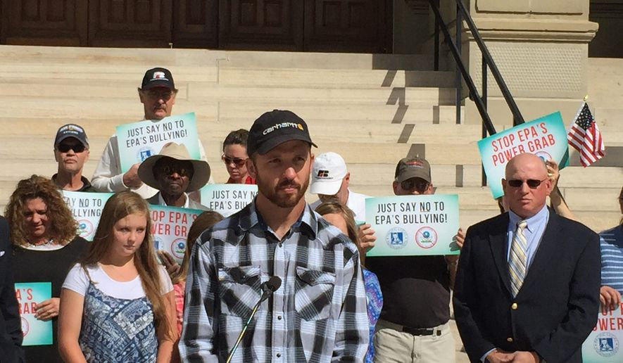 Attorneys for Andy Johnson, a Wyoming farmer facing massive fines over a pond,  filed a lawsuit against the EPA to stop it from enforcing the compliance order. (Pacific legal foundation)