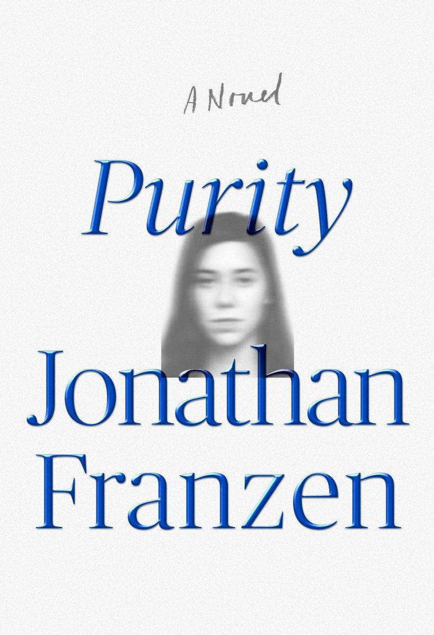 "This photo provided by FSG shows the cover of the book, ""Purity,"" by author Jonathan Franzen. (FSG via AP)"