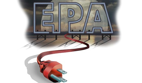 Pulling the Plug on the EPA Illustration by Greg Groesch/The Washington Times
