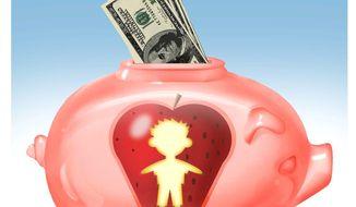 Illustration on Educational Savings Accounts by Alexander Hunter/The Washington Times