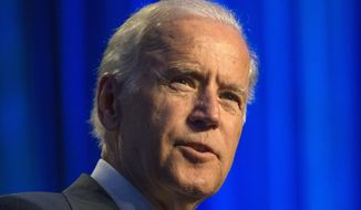 Vice President Joe Biden speaks at Generation Progress's 10th Annual Make Progress National Summit in Washington in this July 16, 2015, file photo. (AP Photo/Molly Riley, File)