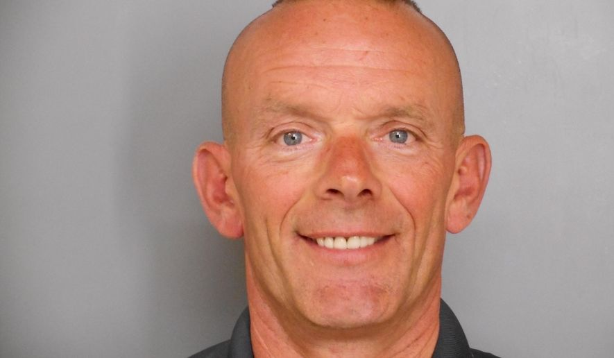 CORRECTS SPELLING FROM GLINIEWITZ TO GLINIEWICZ- This undated photo provided by the Fox Lake Police Department shows Lt. Charles Joseph Gliniewicz, who was shot and killed Tuesday, Sept. 1, 2015, in Fox Lake, Ill. Police with helicopters, dogs and armed with rifles were conducting a massive manhunt Tuesday in northern Illinois for the individuals believed to be involved in the death of Gliniewicz. (Fox Lake Police Department photo via AP)