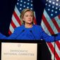 Democratic presidential candidate Hillary Rodham Clinton (Associated Press) **FILE**