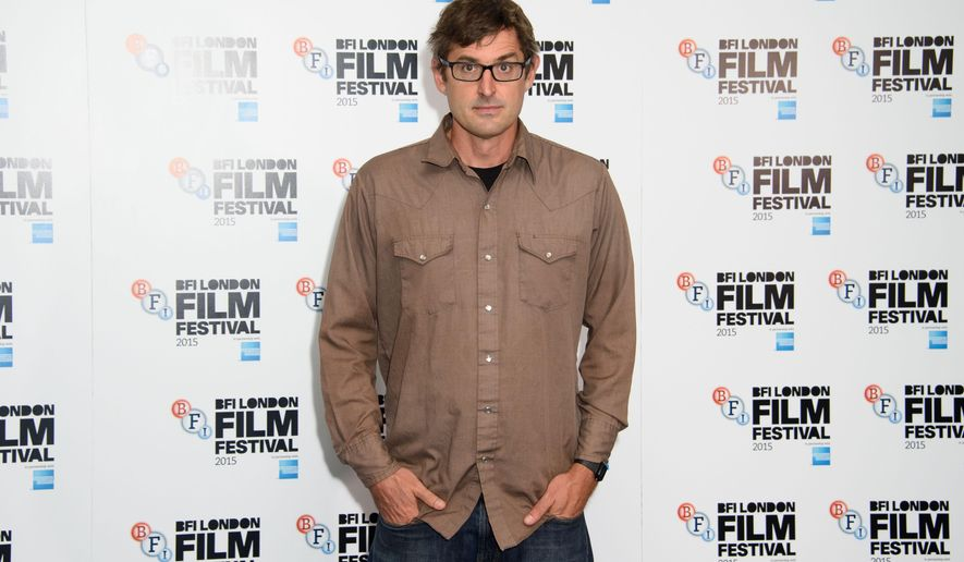 British Director Louis Theroux poses for photographers at the 59th BFI London Film Festival launch at a central London venue, London, Tuesday, Sept. 1, 2015. (Photo by Jonathan Short/Invision/AP)