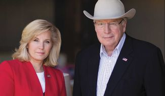 Co-authors Dick Cheney and daughter Liz Cheney (Image from Simon & Schuster)