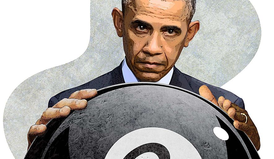 Behind the Eight Ball Illustration by Greg Groesch/The Washington Times