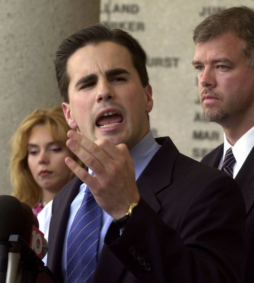 Tom Fitton, president of Judicial Watch (Associated Press) **FILE**