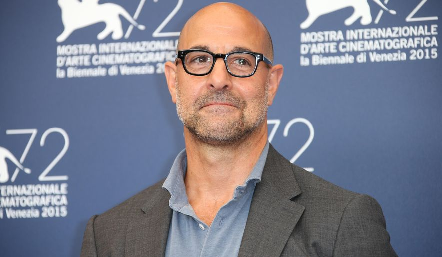 Stanley Tucci poses for photographers at the photo call for the film Spotlight during the 72nd edition of the Venice Film Festival in Venice, Italy, Thursday, Sept. 3, 2015. The 72nd edition of the festival runs until Sept. 12. (Photo by Joel Ryan/Invision/AP)