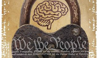 Illustration on protecting U.S. intellectual property rights by Greg Groesch