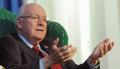 """Former Vice President Dick Cheney described the deal, which lifts economic sanctions on Iran in exchange for limits and inspections on Iran's nuclear capability, as a """"major, major defeat in terms of our position in the region.  The only winners are the Iranians. They got everything they asked for,"""" Mr. Cheney said. (The Register-Herald via Associated Press) ** FILE **"""