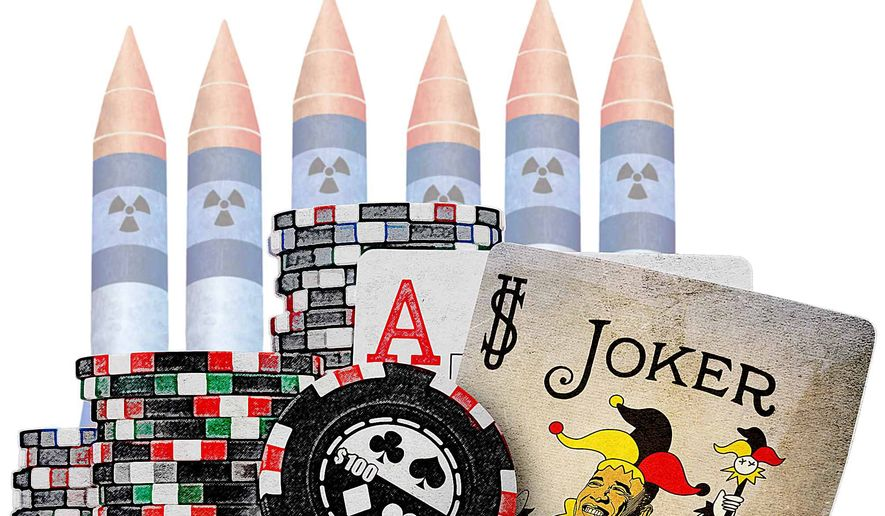 Obama's High Stakes Iran Gamble Illustration by Greg Groesch/The Washington Times