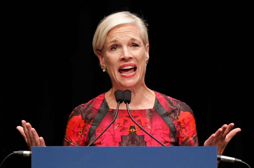 """Cecile Richards, president of Planned Parenthood, told Congress that her organization adheres to medical ethical standards and that just 1 percent of their budget goes to fetal research services. She also said the series of undercover videos were obtained illegally and """"doctored."""" (Associated Press) ** FILE **"""