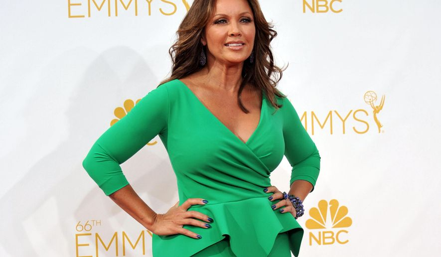 FILE - In this Aug. 25, 2014 file photo, Vanessa Williams arrives at the 66th Annual Primetime Emmy Awards in Los Angeles. The Miss America Organization, Dick Clark Productions and the ABC television network announced Tuesday, Sept. 8, 2015, that they are bringing back the actress and singer to serve as head judge for the 2016 competition. Williams won the title in 1984 but resigned after Penthouse magazine published sexually explicit photographs of her taken several years earlier. (Photo by Richard Shotwell/Invision/AP, File)