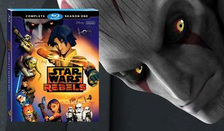The Inquisitor causes trouble for the Ghost gang in Star Wars Rebels: Complete Season One now available on Blu-ray.