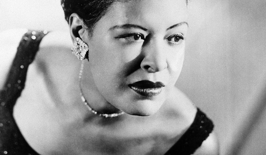 FILE - This Sept. 1958 file photo shows Billie Holiday. The Apollo Theater will launch a hologram of Holiday later this year. The theater based in Harlem, N.Y., said Wednesday, Sept. 9, 2015, the likeness of the late musical icon will be developed by Hologram USA. (AP Photo/File)