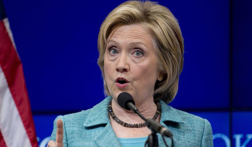 Hillary Rodham Clinton (Associated Press)