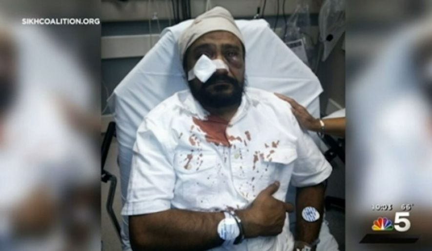 "Police in the Chicago suburb of Darien have opened a hate crime investigation after Inderjit Singh Mukker, a Sikh man, was attacked Tuesday evening and called ""Bin Laden."" (SikhCoalition.org)"
