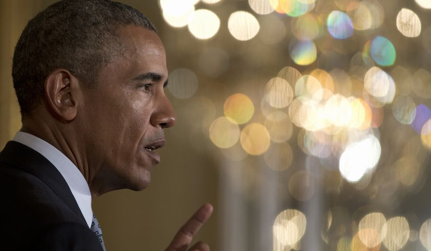 Only 42 senators voted to back President Obama, while four Democrats joined all 54 Republicans in the chamber in opposing the deal — two shy of the number needed to surmount the filibuster. (Associated Press)