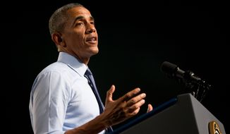 President Obama is making the case that Republican opponents of the Iran nuclear deal — which is designed to limit Tehran's ability to acquire a nuclear weapon in exchange for relief from some economic sanctions — essentially want war with Iran. He argues American casualties are all but certain if the deal is not implemented. (Associated Press)