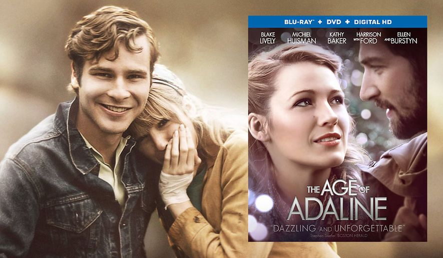 "Anthony Ingruber and Blake Lively in ""The Age of Adaline,"" now available in Blu-ray."