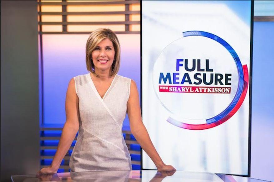 "Sharyl Attkisson, former CBS news anchor, hosts ""Full Measure with Sharyl Attkisson"" (Image: courtesy of Batt Humphreys, executive producer of ""Full Measure with Sharyl Attkisson"")"