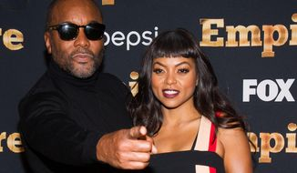 "Lee Daniels and Taraji P. Henson attend the ""Empire"" season two premiere on Saturday, Sept. 12, 2015, in New York. (Photo by Charles Sykes/Invision/AP)"