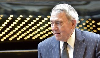 Dan Rather. (Nathan Denette/The Canadian Press via AP) ** FILE **