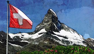 Switzerland Illustration by Greg Groesch/The Washington Times