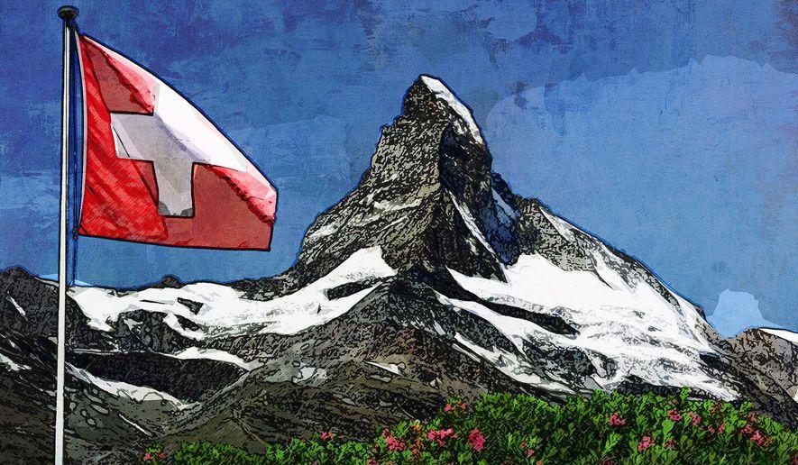 Switzerland Illustration by Greg Groesch/The Washington Times