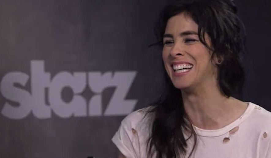 """Sarah Silverman disagrees with many of her fellow comedians on political correctness run amok, arguing in favor of """"changing with the times"""" to accommodate younger, more sensitive generations. (Starz/Vanity Fair)"""