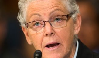 EPA Administrator Gina McCarthy said Wednesday she doubts the EPA will be found guilty of criminal action in relation to the Gold King Mine toxic water spill. (Associated Press)