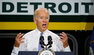 Speculation continues to swirl that Vice President Joseph R. Biden will make a run for the White House in 2016, but Iowa Democrats have said the party's current options are already more than viable. (Associated Press)