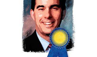 Walker: A Proven Winner Illustration by Greg Groesch/The Washington Times
