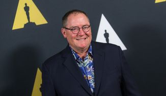 John Lasseter attends the 42nd Student Academy Awards Ceremony at the Samuel Goldwyn Theater on Thursday, Sept. 17, 2015 in Los Angeles. (Photo by Paul A. Hebert/Invision/AP)
