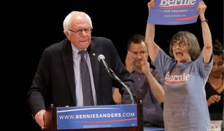 More than the Republican jibes, Sen. Bernard Sanders, the Democratic front-runner in key early states, is feeling the heat from attacks of Hillary Rodham Clinton's allies. (Associated Press)