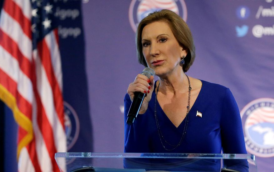 Carly Fiorina, the former CEO of Hewlett-Packard, said Sunday she's confident that her support will continue to grow as more Americans learn about who she is and what she stands for. (Associated Press)