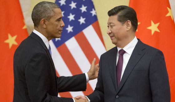 """President Obama plans to call on Chinese President Xi Jinping to push forward with economic reforms in Beijing that could """"level the playing field for foreign firms, reduce barriers to trade and unleash [China's] massive domestic consumer potential,"""" said National Security Adviser Susan E. Rice. (Associated Press)"""