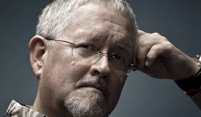 Orson Scott Card with Rusty Humphries