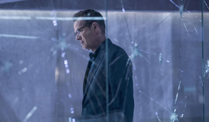 "In this image released by NBC, Jack Coleman appears in a scene from ""Heroes Reborn,"" premiering Thursday on NBC. (Christos Kalohoridis/NBC via AP)"