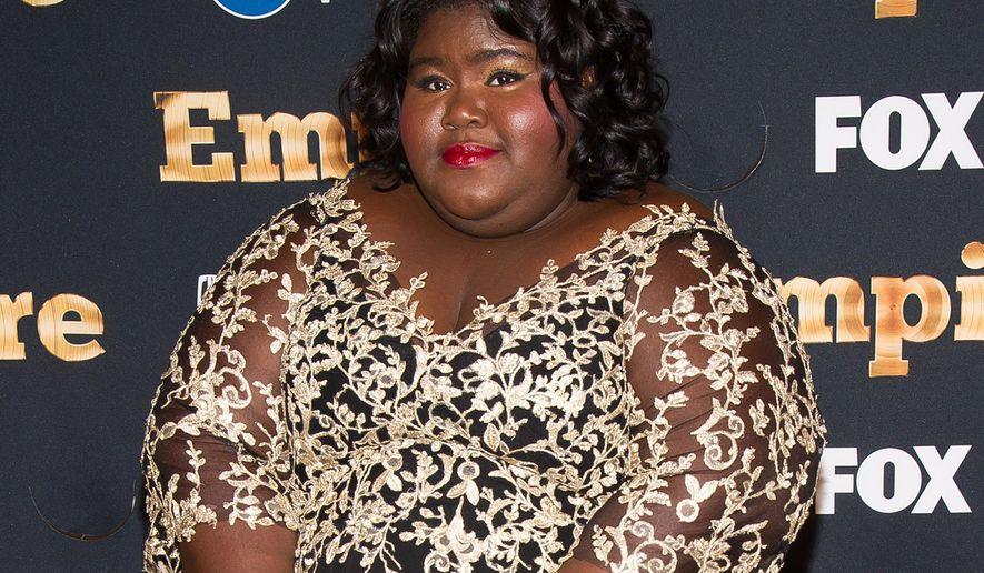 """FILE - In this Sept. 12, 2015 file photo, Gabourey Sidibe attends the """"Empire"""" season two premiere in New York. The second season of """"Empire,"""" starring Sidibe, premieres on Wednesday, Sept. 23. (Photo by Charles Sykes/Invision/AP, File)"""