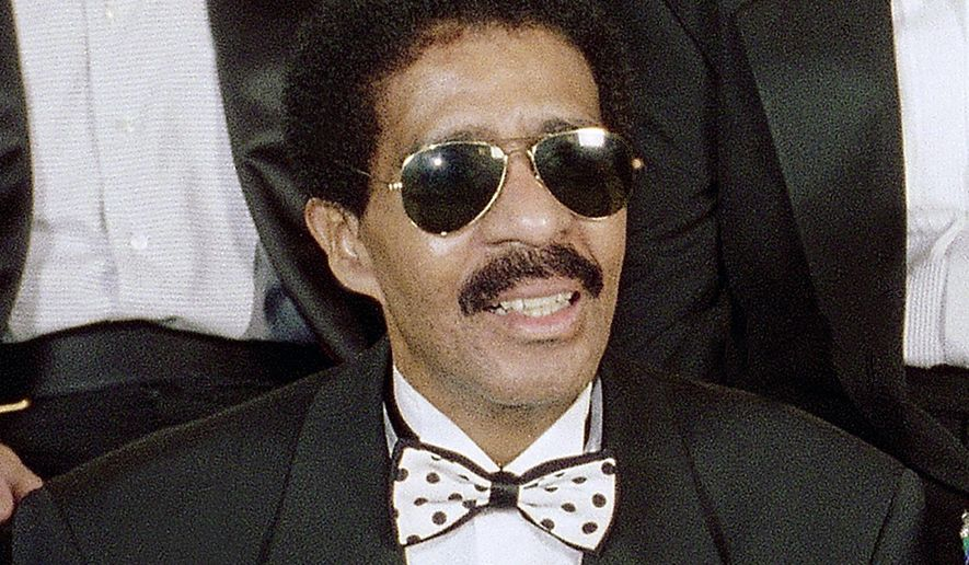 """FILE - In this Aug. 29, 1994 file photo, Richard Pryor appears at the taping of NBC's second annual """"Comedy Hall of Fame"""" in Beverly Hills, Calif. The Apollo Theater in Harlem will induct comics Richard Pryor, Moms Mabley and Redd Foxx into its walk of fame. The legendary comedians will be inducted during a special ceremony on Oct. 1. (AP Photo/Reed Saxon, File)"""